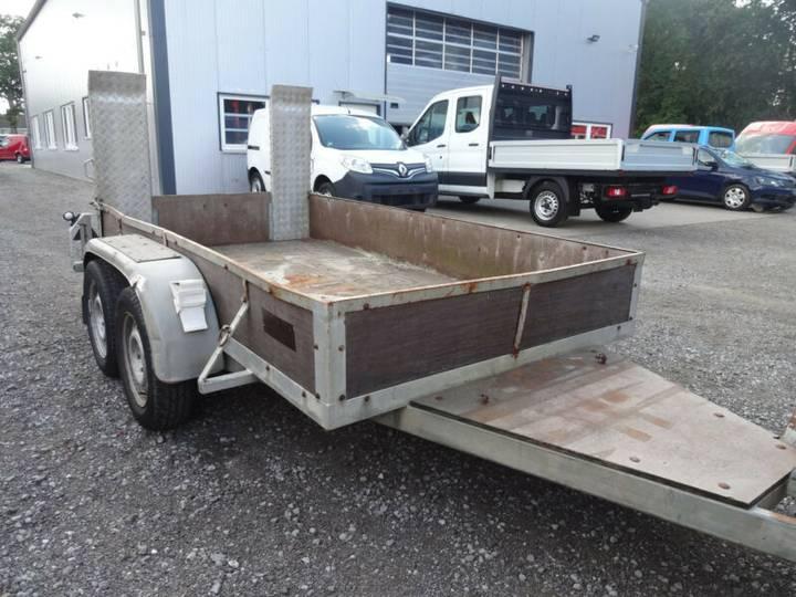 Techau TL 2500 H Anhänger Minibaggertransport - 2000