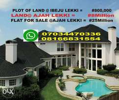 LEKKI & AJAH - Land & House for Sale