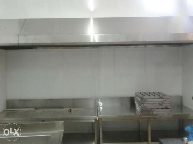 Ss kitchen hood fabricate all size and fixing