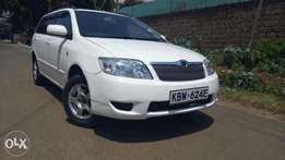 Toyota Fielder KBW..Excellent condition.