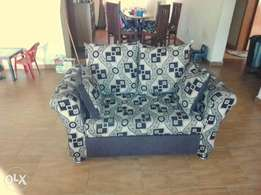Executive sofa set of chair with nice center Rug for give away price