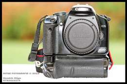 Canon EOS 450D - Body Only + Battery Grip