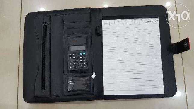 Note Book File with Calculator