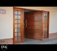 Wooden Pivot doors, Entrance all sizes , kitchen doors