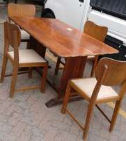 Dining room table with four chairs for sale in Pretoria East