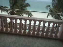 3 Bedroom furnished Beach apartment in nyali
