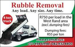 West Rand Rubble Removal