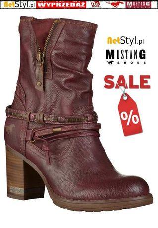 e32782d5f042a Nowe oryginalne kozaki Mustang Shoes 39C068 - NetStyl.pl Koszalin - image 1