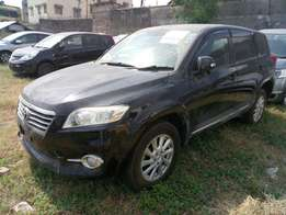 Toyota vanguard new shape KCM number 2010 model loaded with alloy
