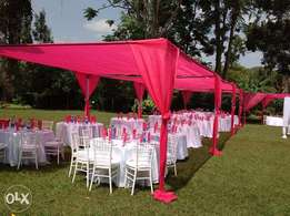 Events decoration and Hiring Solutions