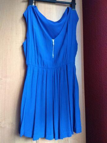 Sukienka niebieska mini L Legnica • OLX.pl