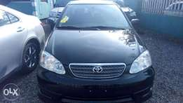 A Tokunbo Toyota Corolla sport edition 2006 model