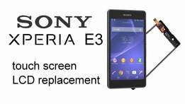 all sony xperia screen and touch replace
