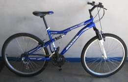 BACKTRAIL mountain bike fully serviced.
