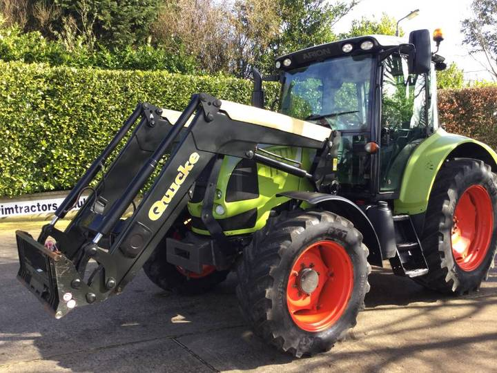Claas Arion 510 Cis C/w Quicke Q55 S/l Loader - 2009