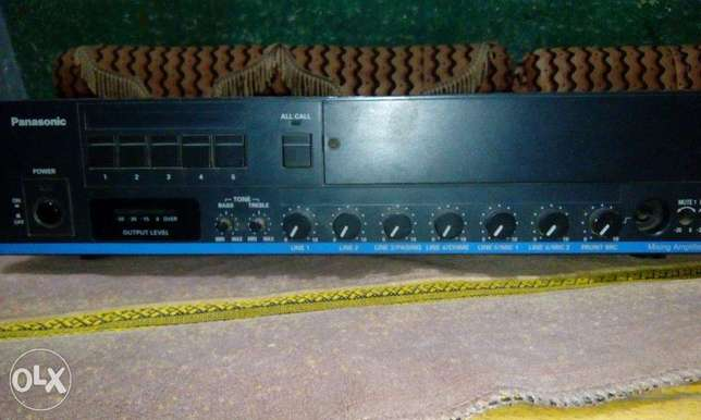 Panasonic digital Mixing Amplifier WA-H120 Japan