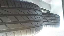Michelin tyres runflats 18inch