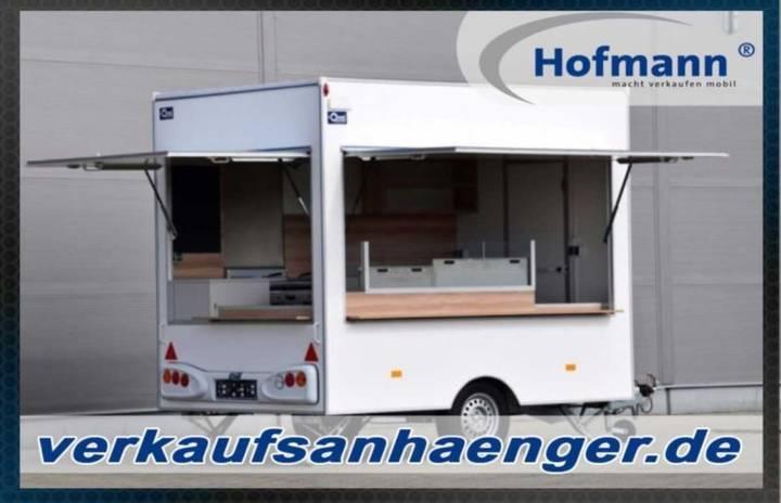 Hofmann verkaufsanhänger 300x200x230 anhänger