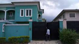 Newly built 5bedroom fully detached house with bq at Magodo GRA