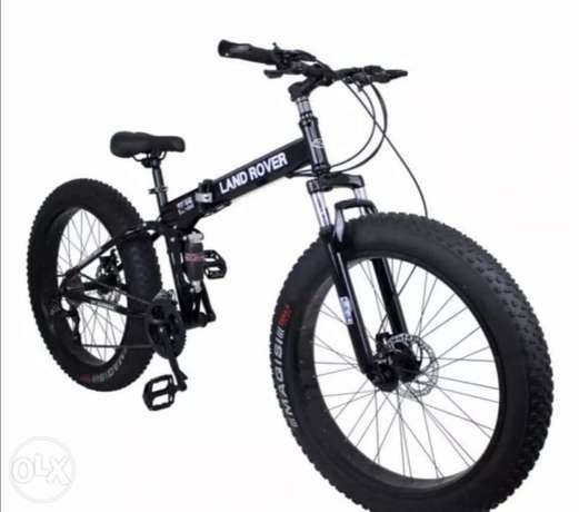 Brand New Fet Land Rover Foldable bike for teens and adults good quali