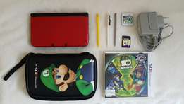 Nintendo 3DS XL with Accessories and 2 Games(Pokémon and Ben10)