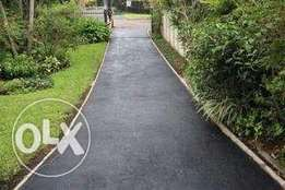 tar surface and paving construction.