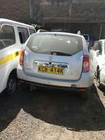 Renault Duster KCB 2014 model with minimal damage on front part