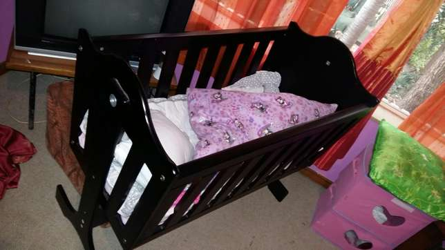 Wooden rocker cot Wonderboom - image 3