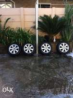 Polo 250 rims and tyres for sale