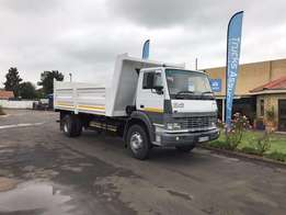 2013 TATA 1518 Tipper with Dropside Combo Body