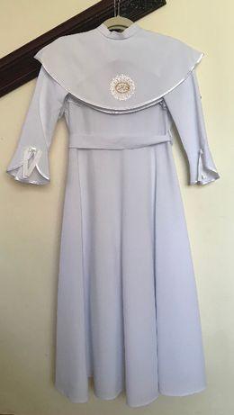 c5e6117786 Alba sukienka Komunia wianuszek rękawiczki torebka peleryna 146 - 152 -  Łeba - Alba   sukienka