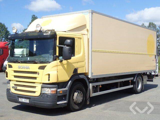 Scania P230LB (Export only) 4x2 Box (tail lift) - 07 - 2019
