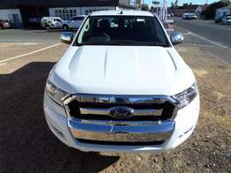 2017 Ford Ranger 3.2XLT Double Cab 4x2 Manual