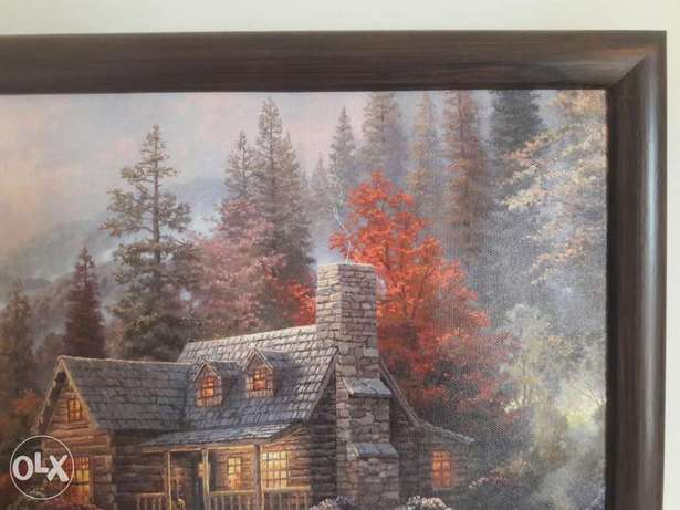 Beautiful paint wooden frame