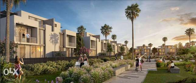 Townhouse middle for sale in Alburouj compound prime location