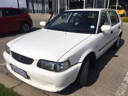 2005 Toyota Tazz XE A/C 5sp