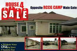 A 4 Bedroom Fully Detached Bungalow For Sale At Opp Redemption Camp