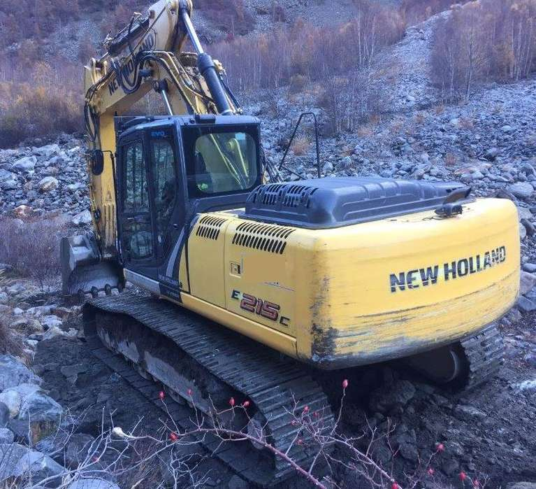 New Holland E215clct - 2014