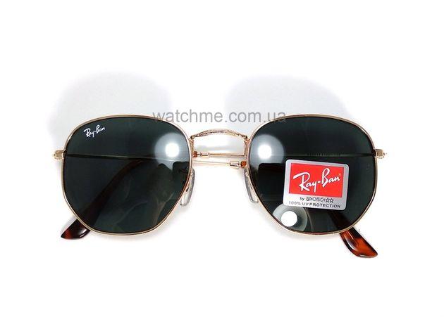 Солнцезащитные очки Ray Ban RB 3548N Hexagonal Gold стекло комплект Киев -  изображение 2 50ae50af37386