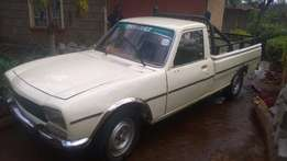 peugot 504, kab 554k with available log-book. used as home private car