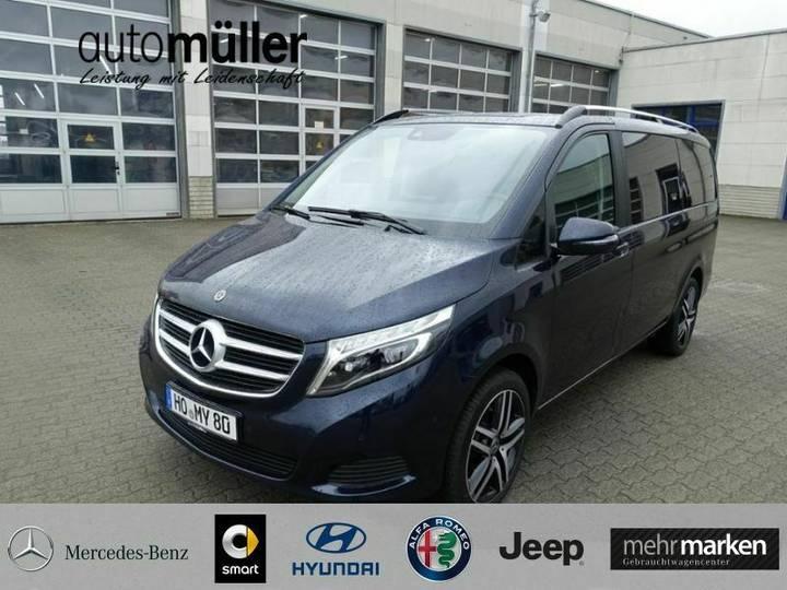 Mercedes-Benz V 250 d Edition Lang 4matic Navi*AHK*LED*7Sitzer - 2019