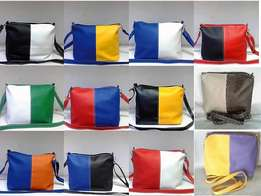 Two tone sling bags