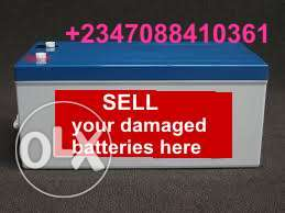 Used Battery buyers in Gwarinpa Abuja
