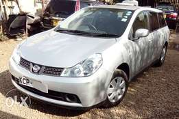 Silver Nissan Wingroad KCP Fully Loaded