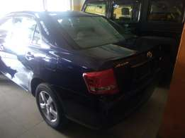 Toyota Axio Dark blue With Alloy rims 2010