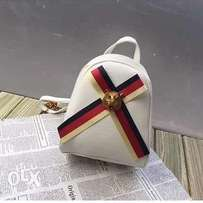 cool white versace bag for fashion