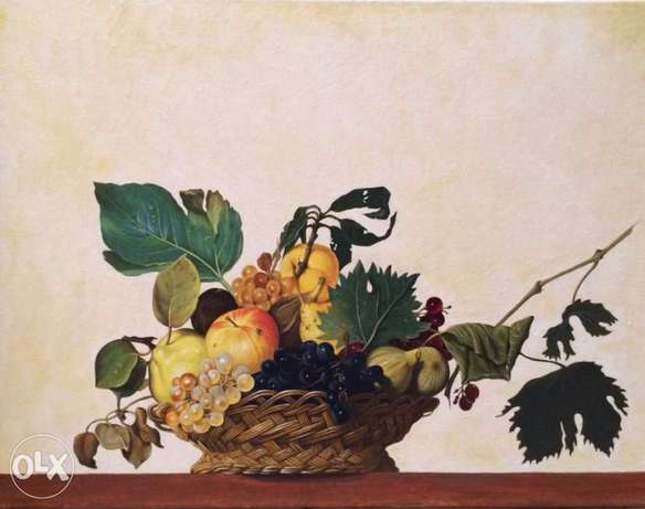 oil painting - after Caravaggio
