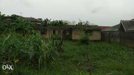 Land with uncompleted building for sale at Magboro