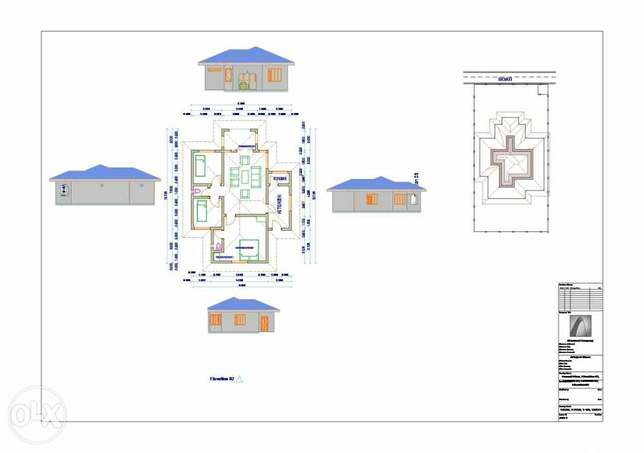 approved architectural drawings Mombasa Island - image 1