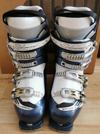 Buty narciarskie damskie rozmiar 24,5 SALOMON X4 Divine